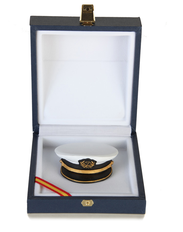 PLATE CAP  OF THE MERCANTILE NAVY OFFICER