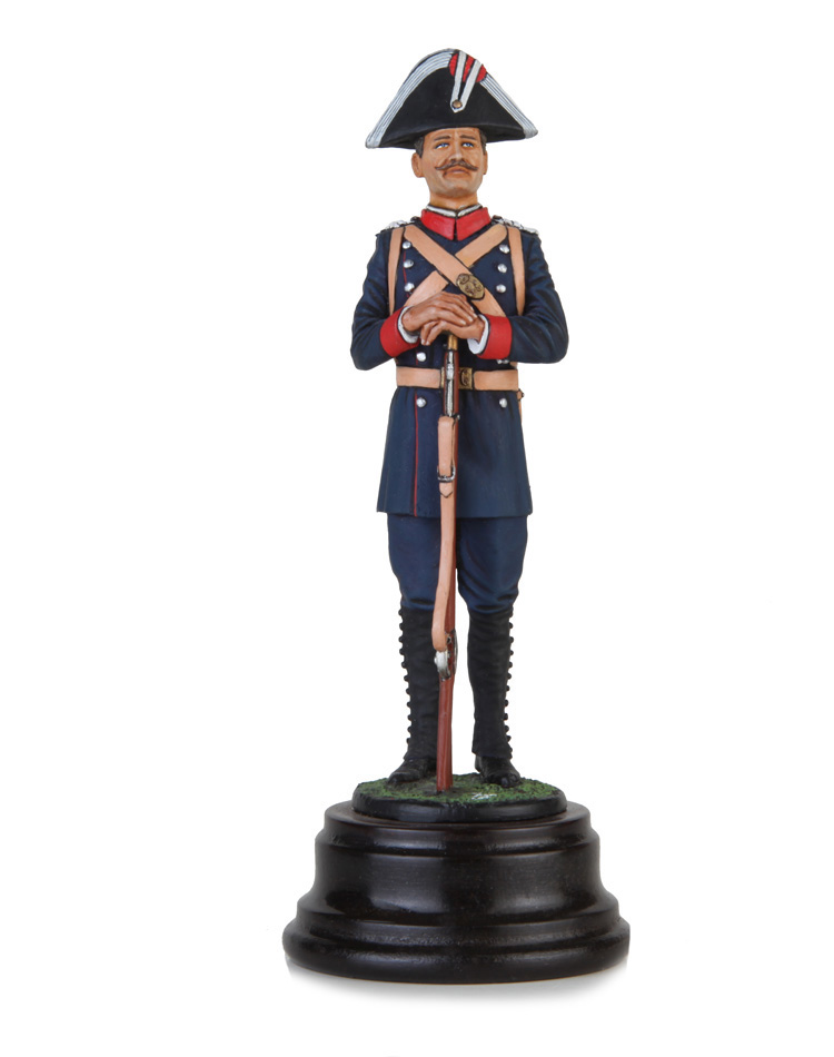 Civil Guard foundational time 1844. Size 13 cm