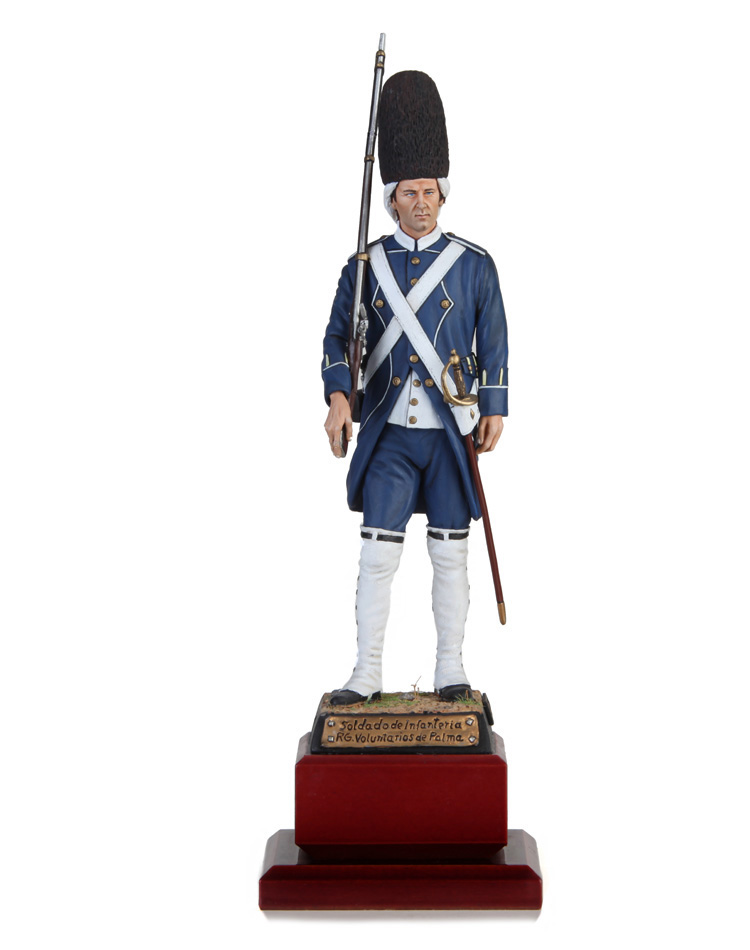 Palma voluntary regiment 1808
