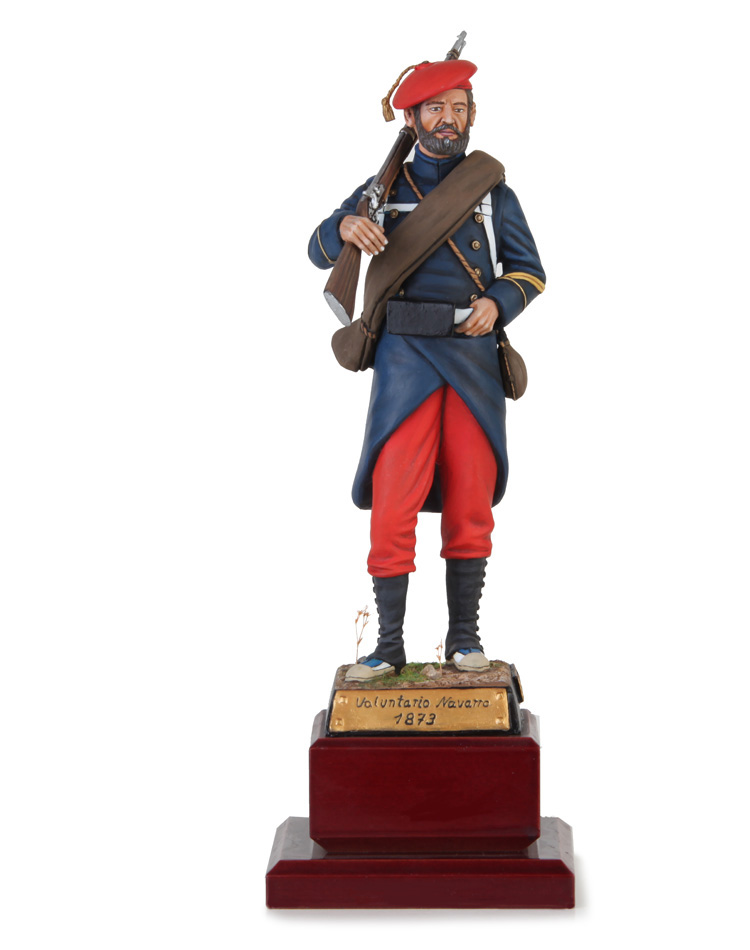 Carlist Navarrian Volunteer 1873