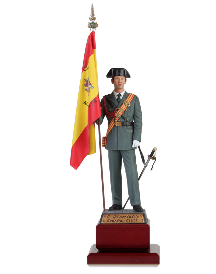 Standard Bearer of Academy of Officers of the Civil Guard