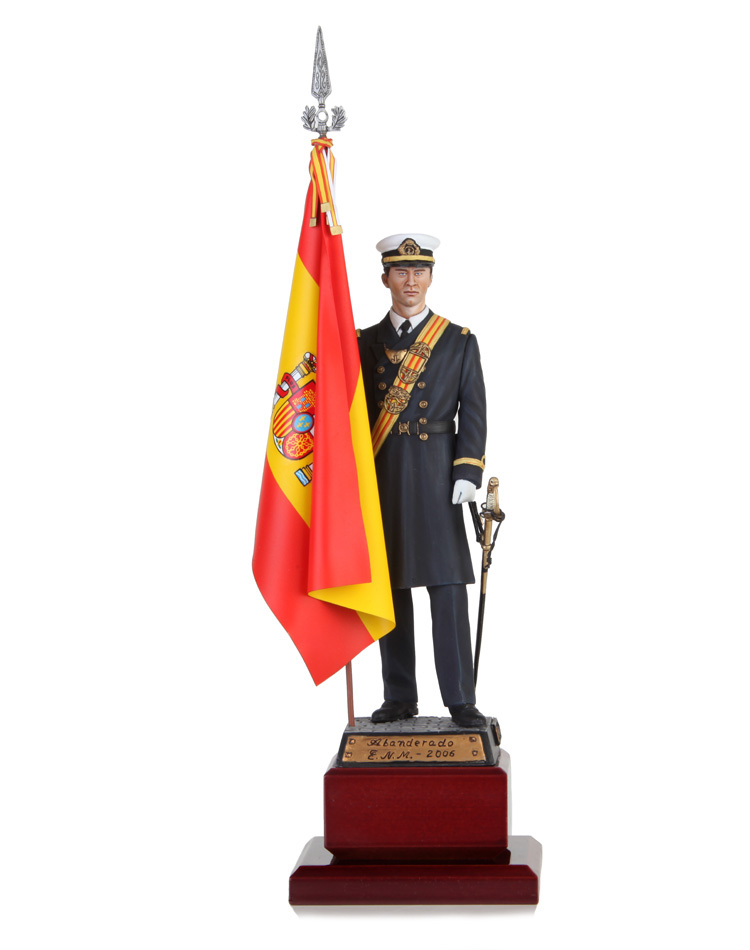 Standard bearer military naval school