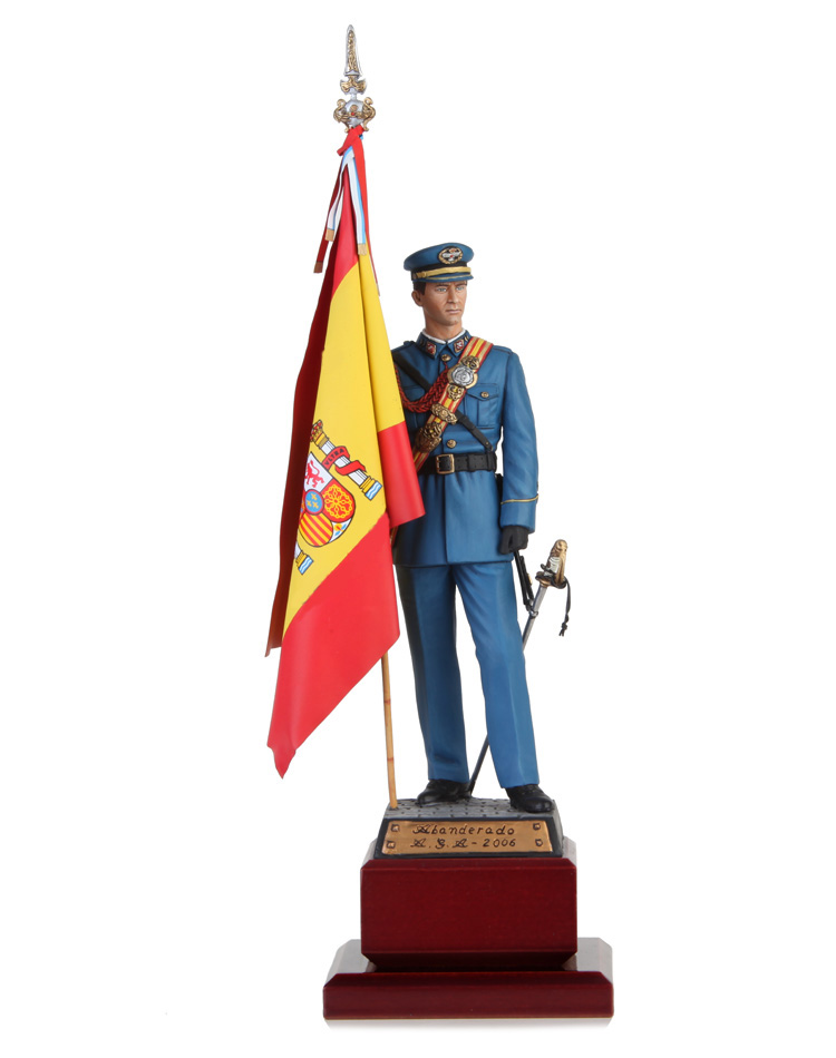 Lieutenant Standard Bearer Spanish Air Academy