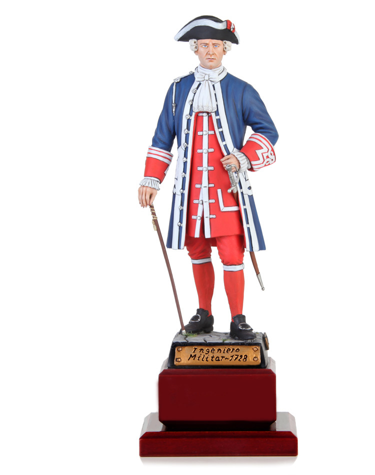 Colonel military engineer 1728