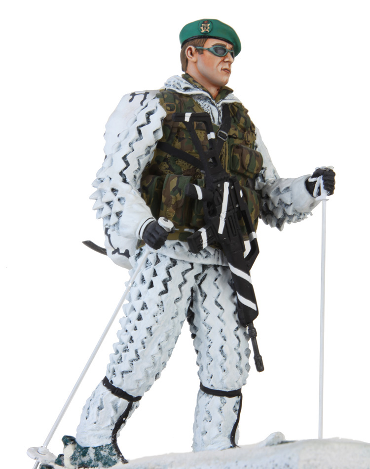 Skier of Mountain Rangers Brigade
