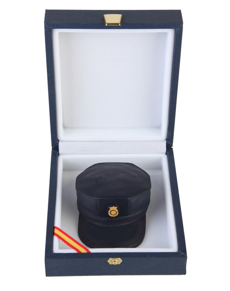 gorra de las unidades de intervención policial UIP