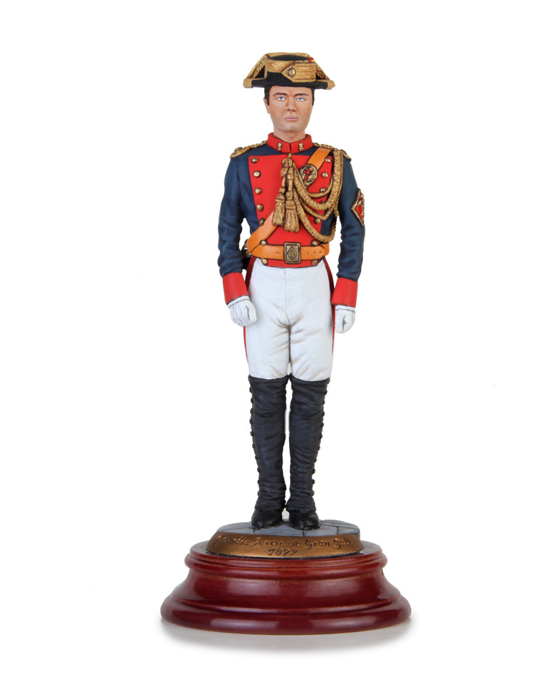 Young Guard in high uniform 1899, Size 16 cm.