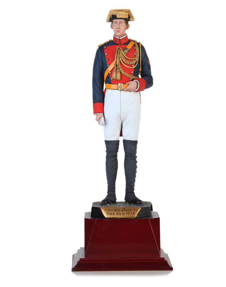 Young Guard in high uniform 1899, Size  27,5 cm