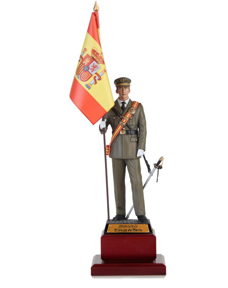 Teniente Abanderado de Infantería ET